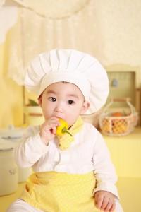 bambino cuoco